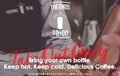 THERMOS COFFEE TO GO